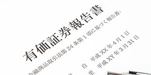 有価証券報告書(EDINET)